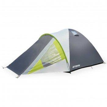 Палатка туристическая аtemi enisey 4 cx, ripstop, двухслойная, четырёхмест