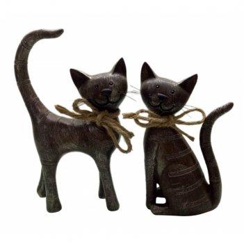 Фигурка декоративная кошка, l12.5 w5 h20.5 см, 2в