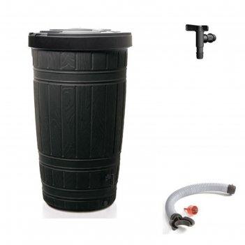 Водосборник woodcan 265 л, цвет черный