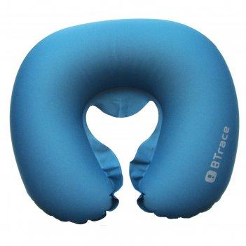 Подушка дорожная под шею air 44 x 37 х 8 см, цвет синий
