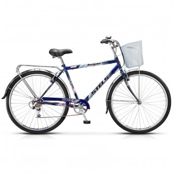 Велосипед 28 stels navigator-350 gent, z010, цвет синий, размер 20