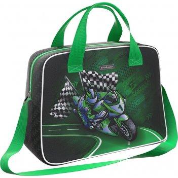 Сумка 44705 для спорта и путешествий erichkrause 21 l motorbike зеленая
