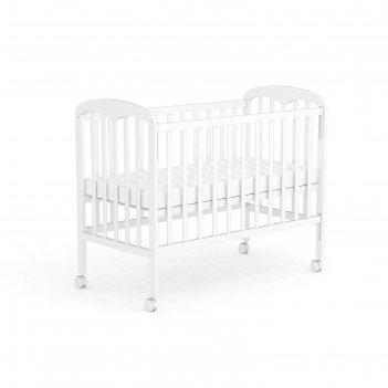 Кроватка детская «фея 323» белая