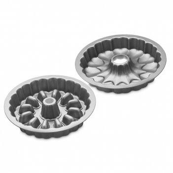 Форма для выпечки surprise, диаметр: 28 см, материал: сталь, цвет: серый,