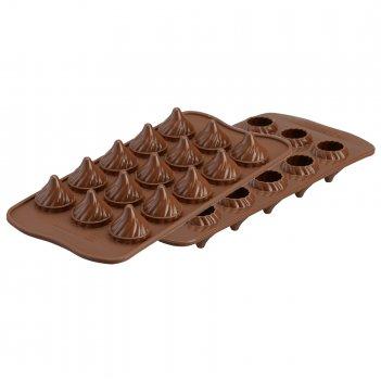 Форма для приготовления конфет choco flame 11 х 21 см силиконовая