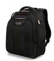 Рюкзак wenger 15 дюймов, цв. черный, с тремя отделениями