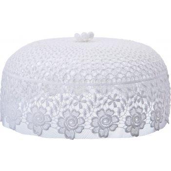 Крышка белая диаметр=30 см ,высота=14 см без упаковки (кор=20 шт.)