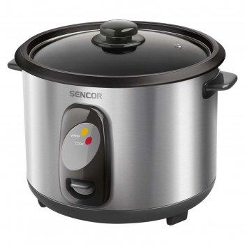 Рисоварка sencor srm 1550ss, 500 вт, 1.5 л, серебристая