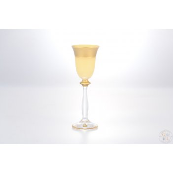 Анжела набор рюмок для водки as crystal матовая полоса анжела 60 мл(6 шт)
