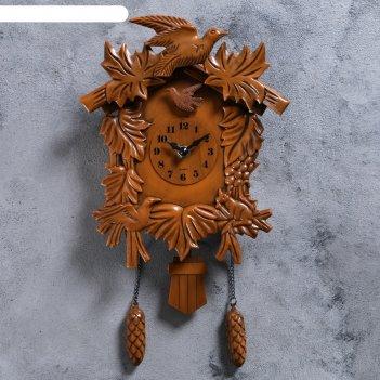 Часы настенные с кукушкой лесные жители