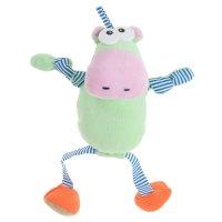 Развивающая игрушк-подвеска веселый бегемот  д-285-15