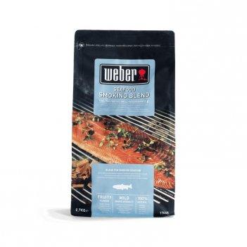 Щепа для копчения weber смесь для рыбы 700 г для сада