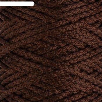 Шнур для вязания с сердечником 100% полиэфир, ширина 5 мм 100м/550гр (146