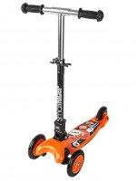 Самый компактный трехколесный складной самокат small rider randy (оранжевы