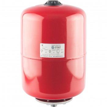 Расширительный бак stout, для систем отопления, 18 л