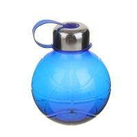 Фляжка-бутылка сфера 600 мл, синяя