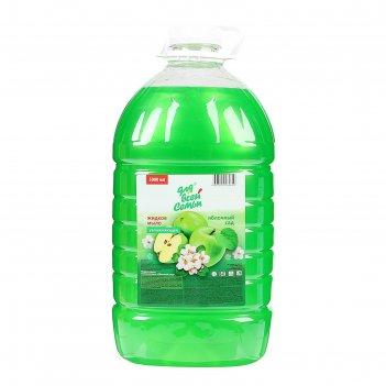 Жидкое мыло для всей семьи яблочный сад 5 л