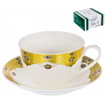 Набор чайный эстелла «дворцовые тайны» 240 мл, 2 предмета