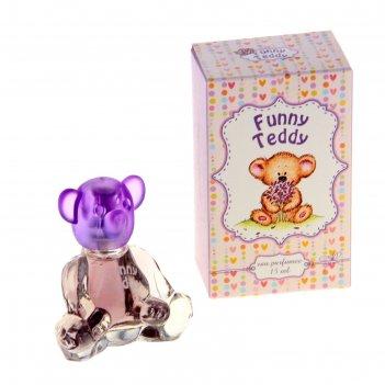 Душистая вода для девочек funny teddy, 15 мл