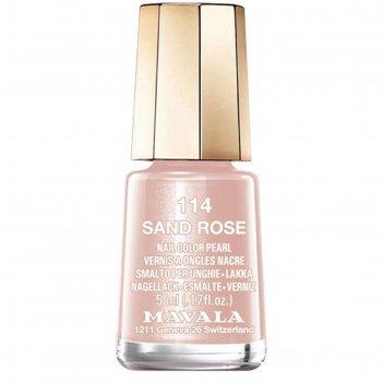 Лак для ногтей mavala 114 розовый песок