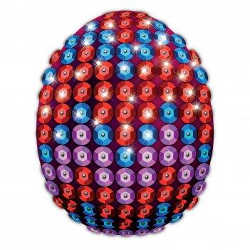 Набор для декорирования пасхального яйца пайетками № 3
