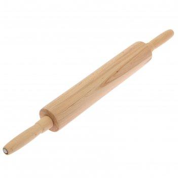 Скалка с крутящейся ручкой, профессиональная