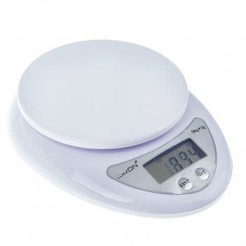 Весы электронные кухонные luazon lvk-501 до 5 кг, (1 гр), белые