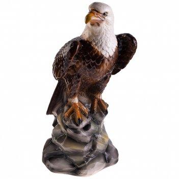 Декоративное изделие орел 27*26 см. высота=56 см.