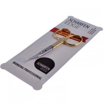 Ножницы nsec-603-hg-cvd (позолоченные)   для ногтей