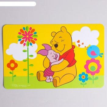 Коврик для лепки медвежонок винни и его друзья, размер 19*29,7 см