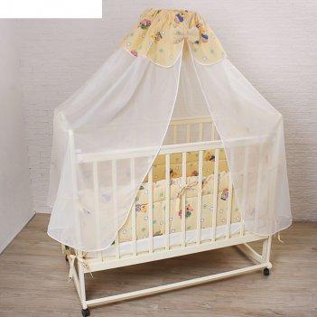 Комплект в кроватку (4 предмета), цвет бежевый 7013 беж