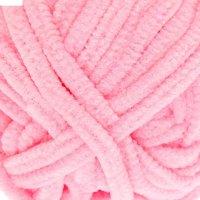 Пряжа плюшевая 100% микрополиэстер 38м/50гр (7005 розовый)