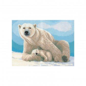 Набор для вышивания мамино тепло