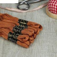 Мулине 10м, (№5806), цвет коричневый