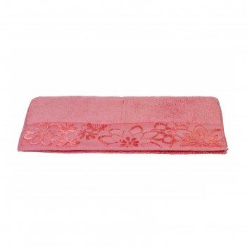 Полотенце dora, размер 50 x 90, розовый