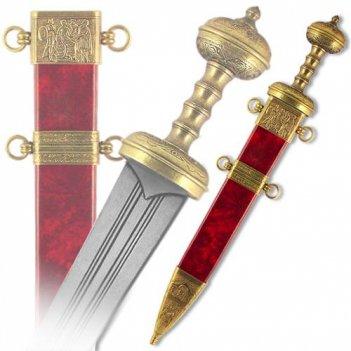 De-4116-l меч римский в ножнах, 1 век до н.э., латунь