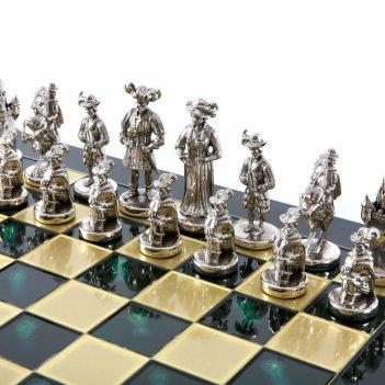 Шахматы бронзовые рыцари средневековья