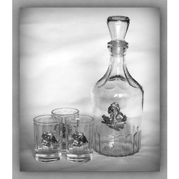 Набор для водки удачная охота  арт. нгс130уох-13