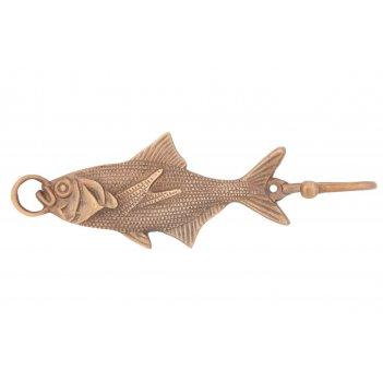 Вешалка-крючок рыба (антик) 2шт/упак.