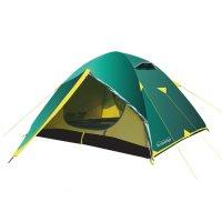 Tramp палатка nishe 3 (v2) зеленый