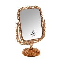 Зеркало настольное элегия, прямоугольное двухстороннее, с увеличением, цве