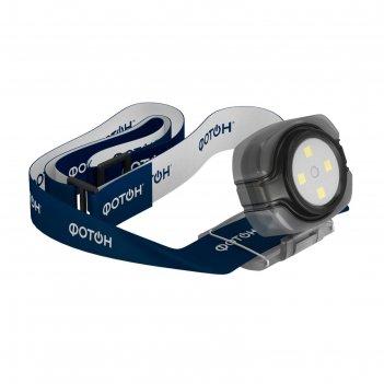 Фонарь налобный светодиодный фотон sh-200 (2хcr2025 в комплекте) , микс
