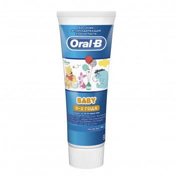 Зубная паста oral-b baby «винни-пух», мягкий вкус, от 0+, 75 г
