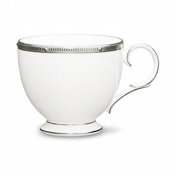 Чашка чайная, объем: 200 мл, материал: костяной фарфор, цвет: белый, декор