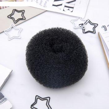 Валик для волос (чёрный, большой)