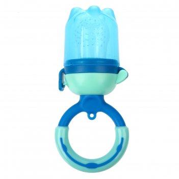 Ниблер силиконовый «ежевика», цвет синий