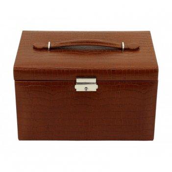Шкатулка для хранения украшений friedrich lederwaren. коллекция classico .