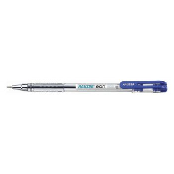 Шариковая ручка hauser eon, пластик, цвет синий