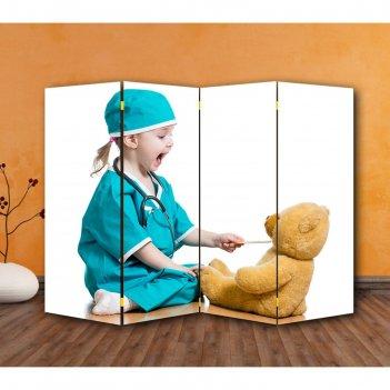 Ширма маленький доктор 200 x 160см
