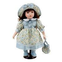 Кукла коллекционная дашенька с сумочкой 30 см